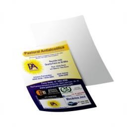Mega promoção de panfleto 10x15, frete colorida e verso vazio