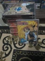 Dvd Fairy Tail legendado do ep 1 ao 140