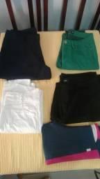 4 calças todas $