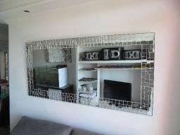 Espelho Novo c/ Moldura de Mosaico de Espelhos 1.60 mt X 73cm-Decoração Fina