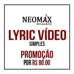 Promoção Lyric Vídeo