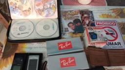 Desapegando produtos parados óculos dvd