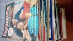 Lote 60 /revistas e gibis diversos.+ Brinde