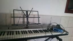 Controlador Roland e placa AudioBox Presonus com cabo Roland, aberto negociação