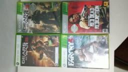 Jogoa de Xbox 360 (40 reais cada)