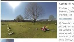 Lote no cemitério ?caminho do céu?