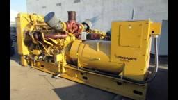 Grupo Gerador Caterpillar 3412 Maquigeral de 1023 KVA com 2200 horas de uso