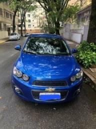 Sonic Ltz IPVA pago!Completo em couro /baixa kilometragem/Não aceito troca!! - 2012