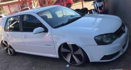 VW- Golf Sportline 1.6 White Edição limitada - 2009