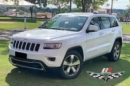 JEEP - Gran Cherokee Limited - 4x4 - Diesel - Branca - Interior Caramelo - 2014/2015 - 2015