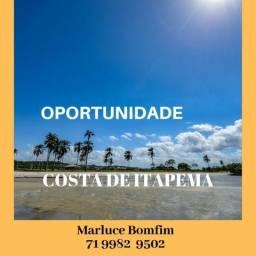 R$ 59.900 - !! Costa de Itapema - Lotes em condomínio - Saubara - praia privativa
