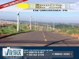Abaixo do preço, terreno em Umuarama-PR., poucos lotes
