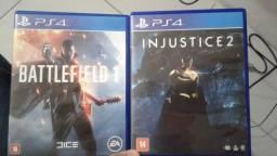 Bf1 e injustice 2 comprar usado  Porto Alegre