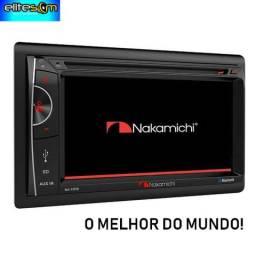 Fenomenal Dvd Nakamichi Tela 6.2, Usb, 2din, Aux, Bt, Multimídia na Elite Som e Acessórios comprar usado  Salvador