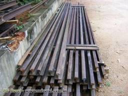 Trilhos tr 32 e tr 37 barras de 5 metros