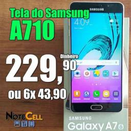 Tela do Samsung A710 2016