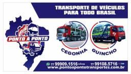 Ponto a ´Ponto transporte de veiculos para todo Brasil