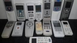 Controles para ar condicionado vários modelos.