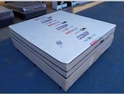 Conjunto box super king gigante 1.93 x 2.03 molas ensacads por apenas 1.799 a vista