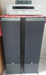 Caixas De Som Jbl torre 4 Vias 400w Rms Es80