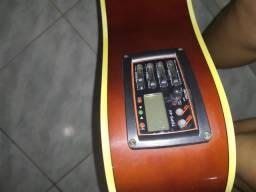 Violão folk eletroacústico giannini