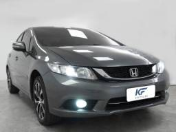 Honda Civic 2.0 LXR Cinza Flex 2015 Automático