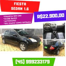 Fiesta 1.6 Sedan 2010 Completo