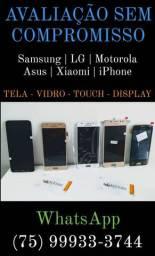 Troca Tela | Vidro | Touch | Displays (Smartphones)