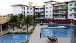 Apartamento com 3 dormitórios à venda, 76 m² por R$ 480.000,00 - Porto das Dunas - Aquiraz