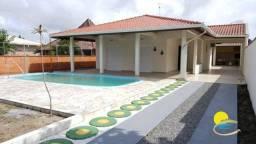 Casa com 3 dormitórios para alugar, 100 m² por R$ 950,00/dia - Rainha do Mar - Itapoá/SC