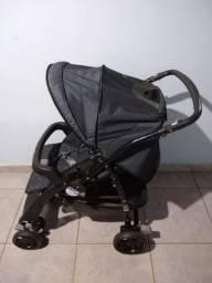 Carrinho de bebê+ bebê conforto + base auto AT6 Burigotto