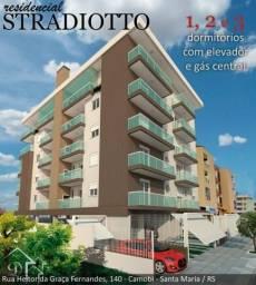 Apartamento à venda com 2 dormitórios em Camobi, Santa maria cod:10147