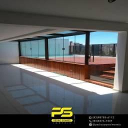 Cobertura com 4 dormitórios à venda, 378 m² por R$ 2.200.000,00 - Intermares - Cabedelo/PB