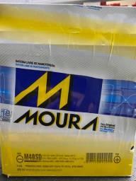 Bateria moura 40ah linha Honda específica garantia 18 meses