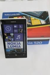 Celular Smartphone Nokia Lumia 520 - GSM