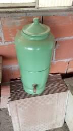 Filtro de barro recondicionado verde