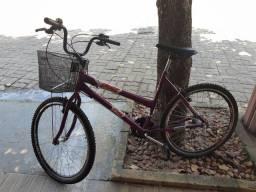 Bicicleta feminina aro 17 com marcha