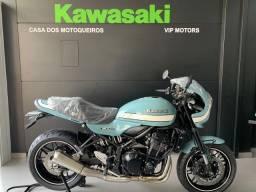 Kawasaki z 900 rs café azul 2020