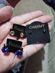 Semi jóias banhadas a ouro 18 kilates aceito cartão de débito e crédito e parcelo