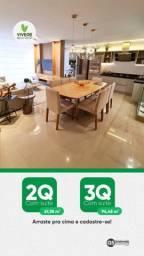 Apartamento com 2 ou 3 suítes