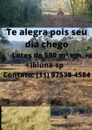Atenção; Terrenos de 550 m² venha fazer um grande investimento nessas áreas de Ibiúna-SP