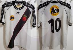 Camisa Vasco Branca 1999 Kappa Edmundo