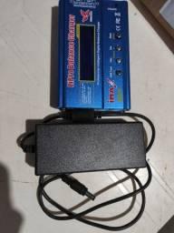Carregador bateria imax b6 com fonte
