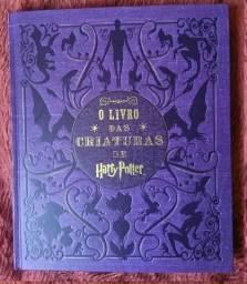O livro das criaturas de Harry Potter em ótimo estado