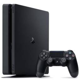 PlayStation 4 Slim 1 TB (1 mês de uso + 6 meses garantia) CUH-2214B Mega Pack Preto Onyx