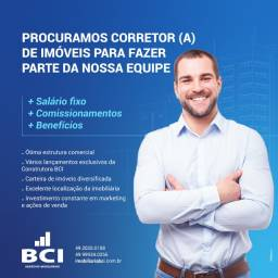 Vaga na BCI - Corretor de Imóveis