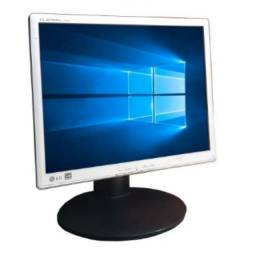Monitor Lcd LG Flatron 1742 Base Regulagem Altura - Semi Novo Rrevisado