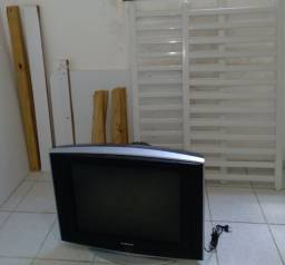 TV SAMSUNG ANTIGA + BERÇO