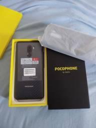 Pocophone f1 64/6 de RAM na caixa sem detalhes (aceito cartão)