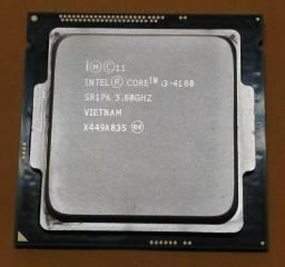 Processador I3 4160 3.6ghz 1150 Quarta Geração